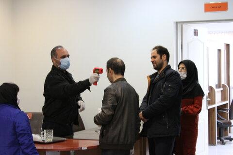 گزارش تصویری | ضد عفونی مراکز بهزیستی استان تهران برای کنترل شیوع کرونا