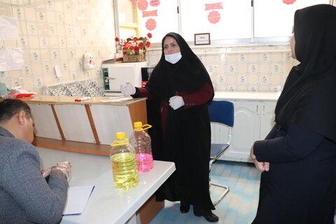 گزارش تصویری/ بازدید سرپرست بهزیستی استان از مراکز سالمندان