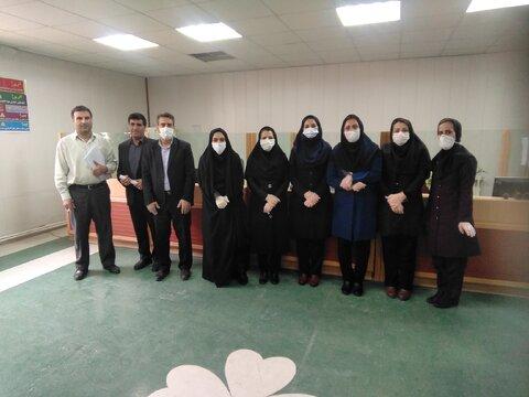 گزارش تصویری/ بازدید مدیر کل بهزیستی ایلام از مراکز ۱۴۸۰ و ۱۲۳