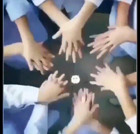 فیلم|آموزش مجازی شستن دستها به کودکان مهدهای کودک
