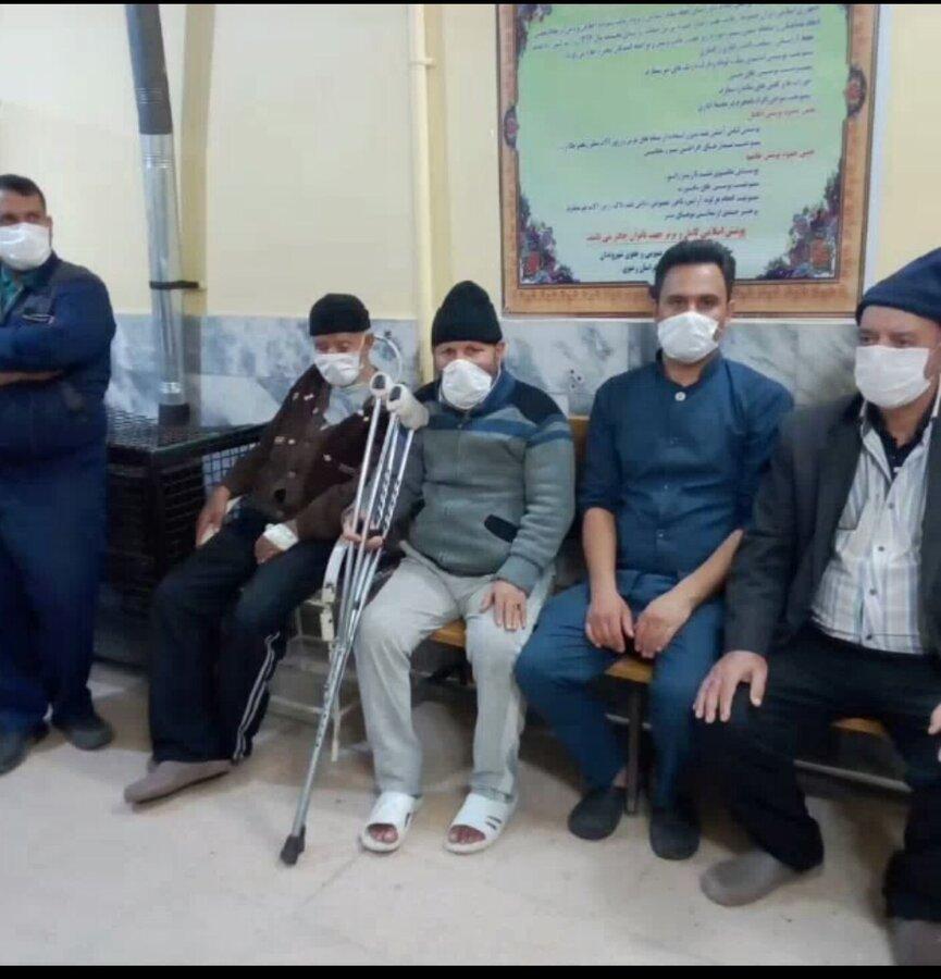 فیلم   اقدامات پیشگیری و مقابله با ویروس کرونا در مرکز سالمندان توحید گلمکان