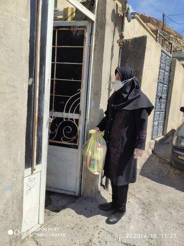 گزارش تصویری/ توزیع اقلام بهداشتی در ایلام