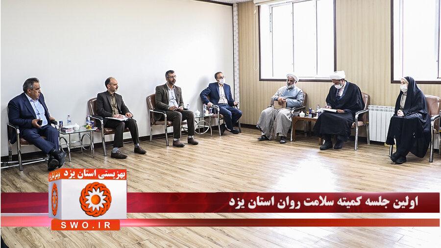 کلیپ   نخستین جلسه کمیته سلامت روان اجتماعی استان یزد