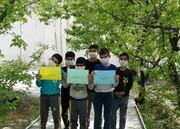 گزارش تصویری از حال هوای مرکز نگهداری کودکان ۷ تا ۱۲ سال سبحان در روزهای کرونایی