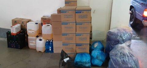 گزارش تصویری | توزیع بسته های غذایی و اقلام بهداشتی به جامعه هدف بهزیستی استان قزوین
