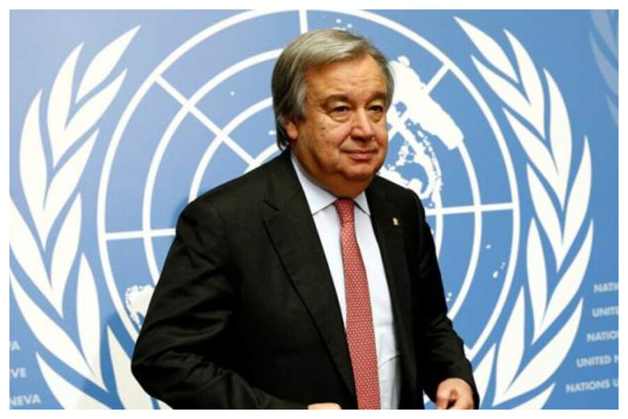 Guterres asks for inclusion of people with disabilities in Coronavirus