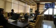 گزارش تصویری   جلسه ارتباط تصویری رییس سازمان بهزیستی با مدیران کل استان ها با موضوع مراکز مثبت زندگی