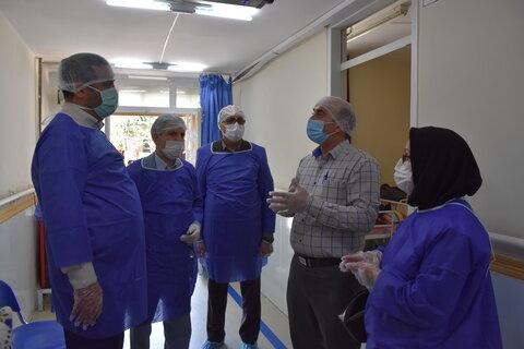 کلیپ | بازدید مدیر عامل جمعیت هلال احمر استان از مرکز نگهداری سالمندان صدیق