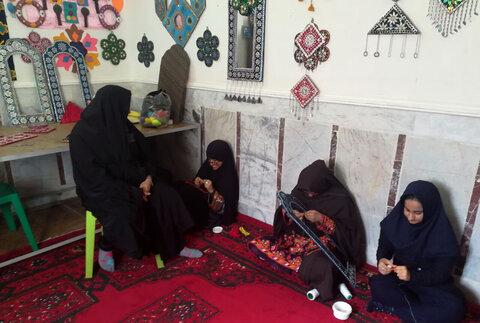 سهم ۴۰ دختر معلول ذهنی ایرانشهر در جهش تولید