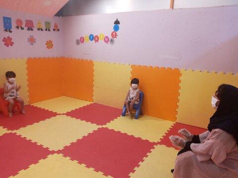 گزارش تصویری| پذیرش کودکان در مهدهای ایلام با رعایت پروتکل بهداشتی
