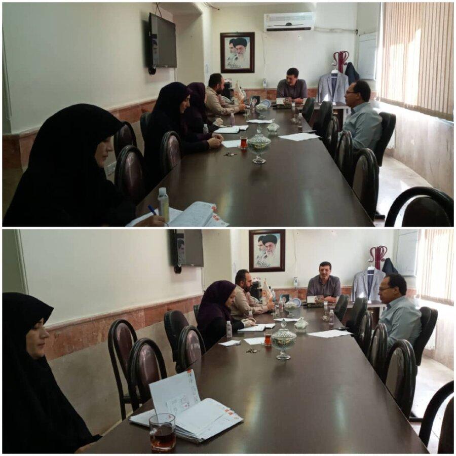 نظرآباد   برگزاری جلسه هماهنگی برنامه های گرامیداشت هفته بهزیستی