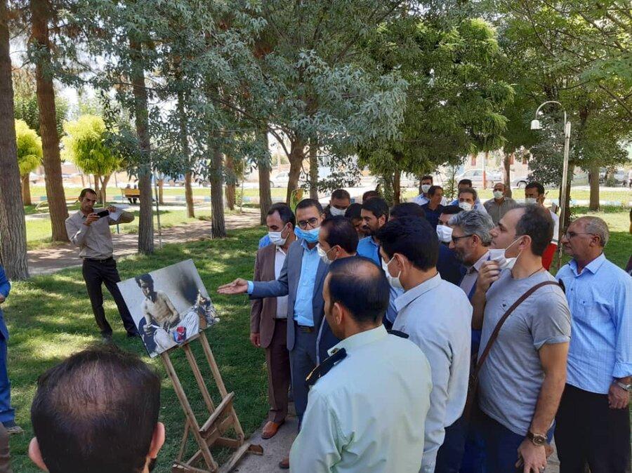 سیروان برپایی نمایشگاه عکس اعتیاد در سیروان
