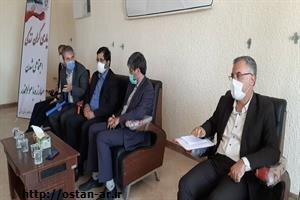 گزارش خبری ا جلسه شورای هماهنگی مبارزه با مواد مخدر با حضور استاندار اردبیل