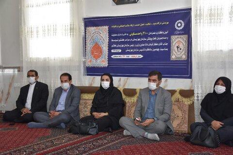 گزارش تصویری|افتتاح ۳۷ واحد مسکونی مددجویان بهزیستی استان کرمانشاه