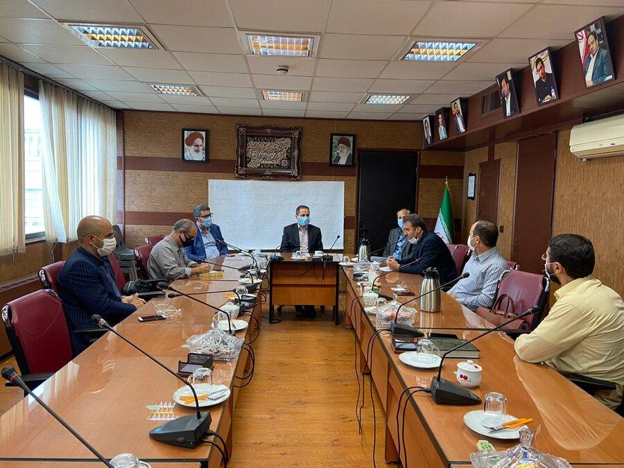 جلسه بررسی فعالیتهای انجام شده در زمینه ارتقاء سطح آموزشی فرزندان جامعه هدف برگزار شد