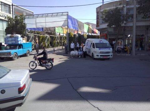 گزارش تصویری/ مانور اورزانس اجتماعی در ایلام