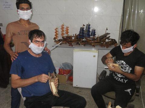 افتتاح مرکز خوداشتغالی ترک اعتیاد
