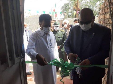 افتتاح طرح های خدماتی شهرستان سراوان