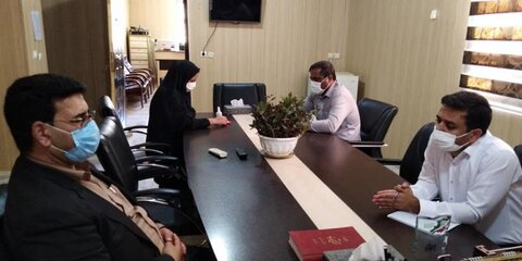حاجی آباد | بهزیستی شهرستان حاجی آباد میزبان فرماندار شهرستان