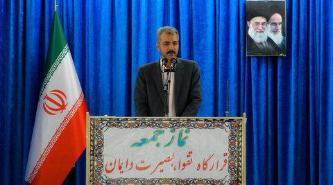 ارائه گزارش مدیر کل بهزیستی سیستان و بلوچستان در نمازجمعه شهرستان زاهدان