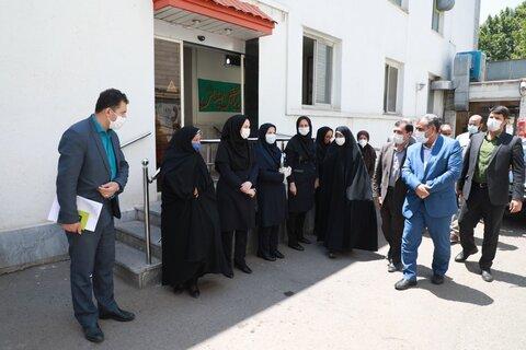 گزارش تصویری | دیدار استاندار قزوین با پرسنل اداره کل بهزیستی استان قزوین
