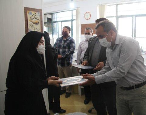 گزارش تصویری/تجلیل از سادات شاغل