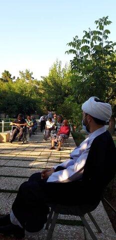 گزارش تصویری|برپایی جشن عید سعید غدیر خم در مرکز سالمندان جنت