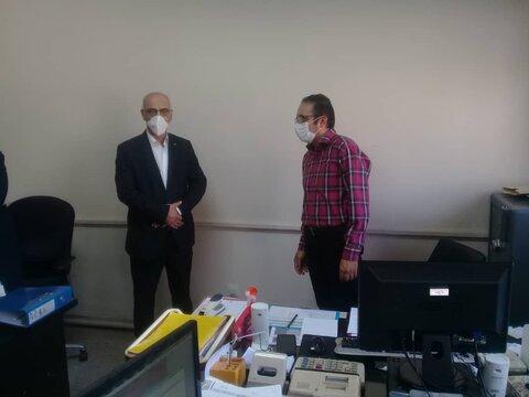 گزارش تصویری | دیدار مدیرکل با همکاران سادات بمناسبت عید غدیر