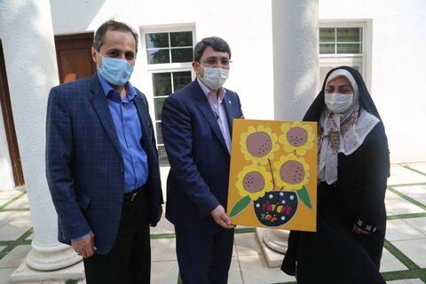 گزارش تصویری|تجلیل رئیس بهزیستی کشور از مدیر موسسه طلیعه مهر طه