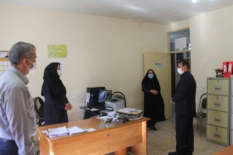 گزارش تصویری|بازدید مدیر کل از بخشهای مختلف اداره بهزیستی شهرستان ایلام