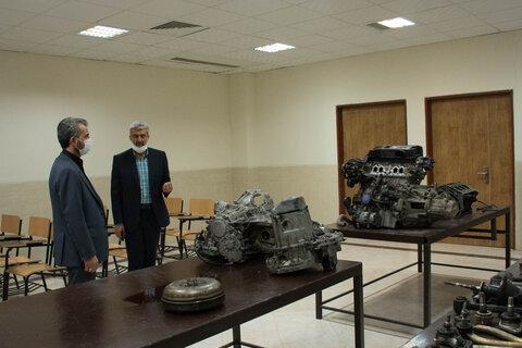 بازدید موسسه آموزش عالی هاتف زاهدان