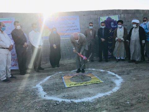 افتتاح مسکن دیر