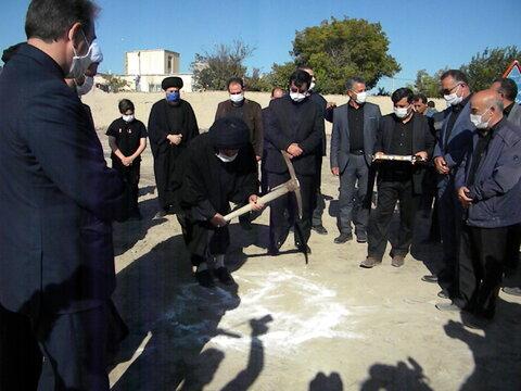 گزارش خبری ا مراسم کلنگ زنی مرکز نگهداری کودکان بی سرپرست موسسه خیریه امام رضا (ع) بهزیستی استان اردبیل