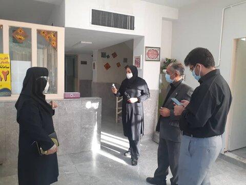 گزارش تصویری/ بازدید سید احمد خادم، معاون امور توانبخشی بهزیستی استان تهران از مرکز وحدت شمیرانات