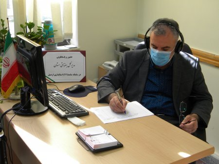 حضور و پاسخگویی مدیرکل بهزیستی استان از طریق مرکز ارتباطات مردمی (111) سامد