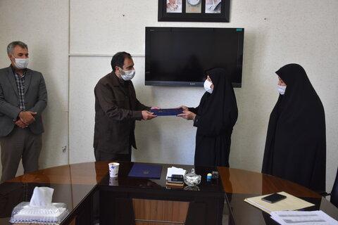 مدیر جدید دفتر حقوقی بهزیستی استان کرمانشاه معرفی شد