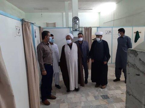 بازدید امام جمعه ایرانشهر از مراکز فیزیوتراپی و اورژانس اجتماعی این شهرستان