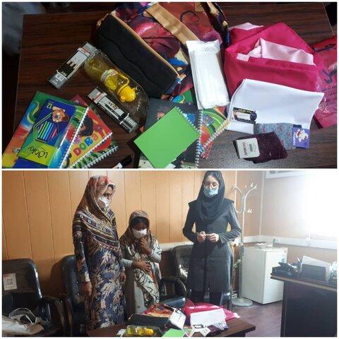 تصاویر/توزیع کمکهای غیرنقدی پویش ایران همدل بصورت بسته های غذایی،معیشتی و اقلام کمک آموزشی در بین مددجویان