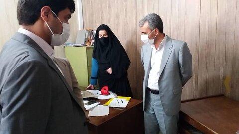 بازدید مدیرکل بهزیستی استان - بهزیستی چابهار