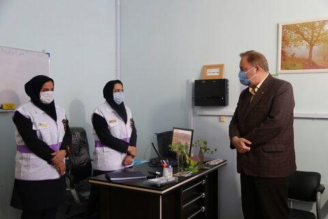 گزارش تصویری   نور  بازدید مدیر کل بهزیستی استان مازندران از اداره بهزیستی و اورژانس اجتماعی شهرستان نور