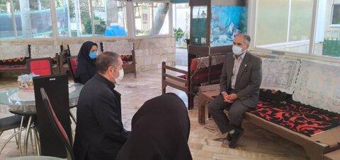 گزارش تصویری|بازدید معاون توانبخشی بهزیستی استان تهران از مراکز بهزیستی شهرستان اسلامشهر