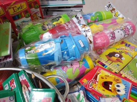 گزارش تصویری| تهیه 100 بسته لوازم التحریر برای دانش آموزان مددجوی بهزیستی دهلران