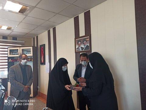گزارش تصویری|تجلیل از پرسنل خانواده معظم شهدا، جانبازان، ایثارگران و رزمندگان شاغل بهزیستی کرمانشاه