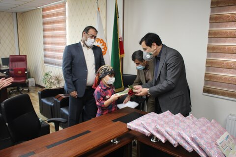 جشن تکلیف فرزندان پرسنل بهزیستی استان البرز برگزار شد