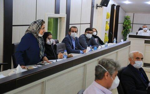 گزارش تصویری |  سنندج |  برگزاری جلسه انتخابات هیات مدیره خانه خیرین سنندج