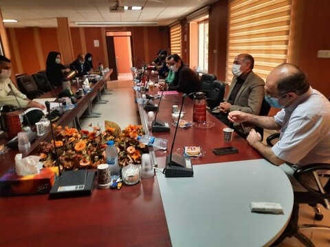 گزارش تصویری/سنندج /برگزاری جلسه، با هدف تعامل بین بخشی حوزه نظام وظیفه و بهزیستی استان