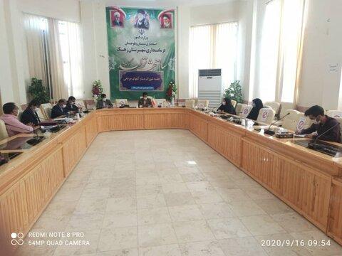 بازدید معاونت مشکارتهای مردمی سیستان و بلوچستان از منطقه سیستان