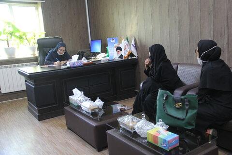 گزارش تصویری|ملاقات عمومی مدیر کل