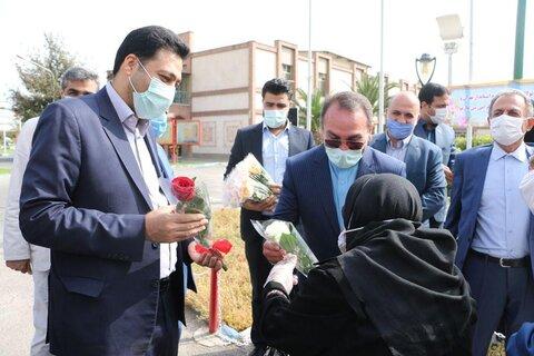 فرماندار شهر ری با سالمندان کهریزک دیدار کرد