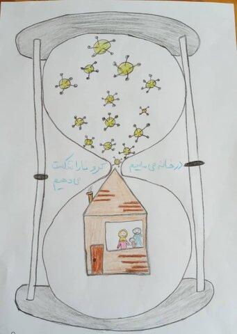 گزارش تصویری |برگزاری مسابقه نقاشی به مناسبت روز کودک بین کودکان کار